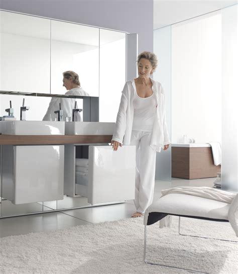 mirrowall mirror wall system from duravit digsdigs