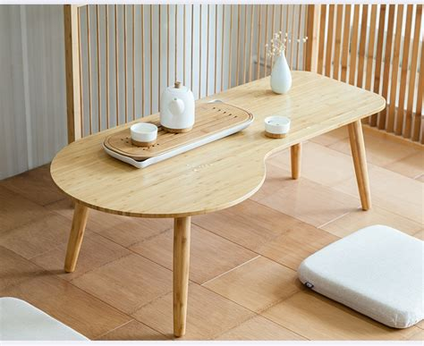 small bamboo table low unique bamboo coffee table modern design sofa side