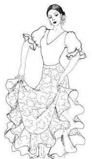Raquel Lopez Flamenco Costume Designs More Costumes  sketch template