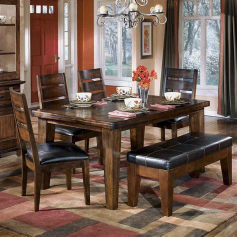 Dining Room Cool Ashley Dining Room Furniture Design Dining Room Table Bench Set