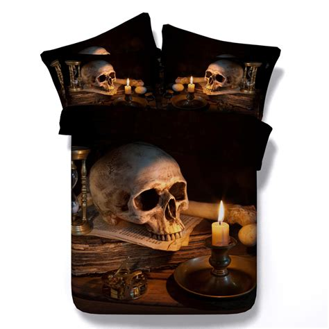 skull bed sets queen popular skull bedding sets buy cheap skull bedding sets