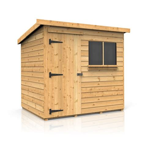Montana Shed by Montana Pent Garden Shed For Sale Sizes From 7 X5
