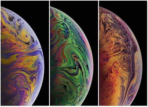all the new wallpapers added in iphone xs xs max and iphone xr iphone in canada