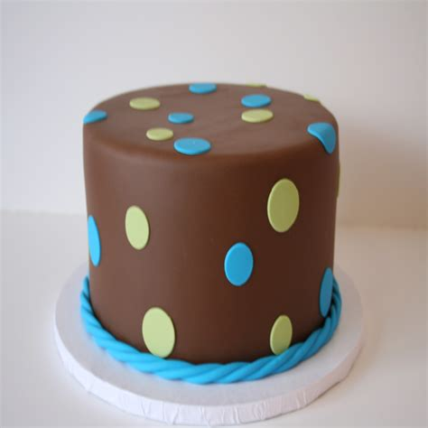 Birthday Cakes For Boys by Mod Cakery Boy Birthday Cakes Nj Brown Dots Cake
