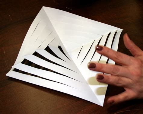 3d Paper Template by Best Photos Of 3d Paper Snowflake Templates 3d Paper