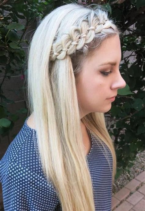 comfortable headbands 40 cute and comfortable braided headband hairstyles long