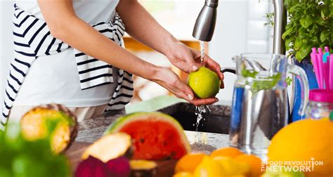 fruit and vegetable wash how to wash vegetables and fruits to remove pesticides
