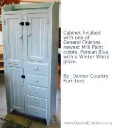 cabinet dressed in persian blue milk paint amp white glaze