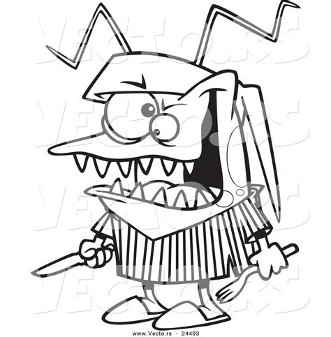 hungry boy coloring page larger preview vector of a cartoon hungry bed bug holding