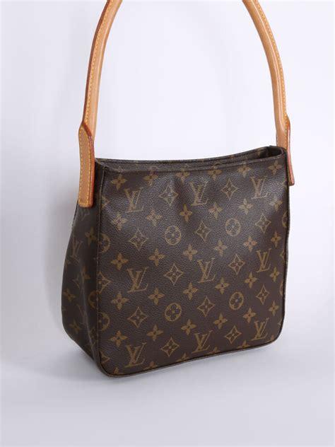 louis vuitton looping mm monogram canvas luxury bags