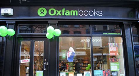 Oxfam Ireland Fair Trade Shop by Oxfam Parliament St Books Charity Shop Ireland