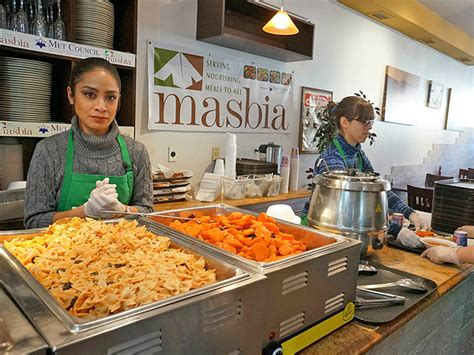 Soup Kitchen Tx by Masbia S Soup Kitchen Offers Fresh Food From Chef Ruben