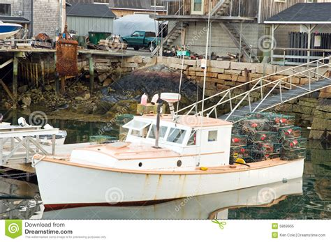 lobster boat seafood on the water lobster boat at dock royalty free stock photo image 5869905