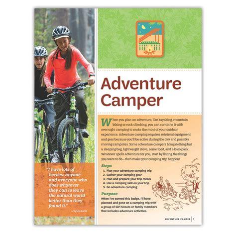 Senior Adventure Camper Badge Requirements