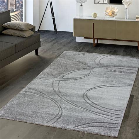 teppich uni moderner teppich wohnzimmer kurzflor teppich
