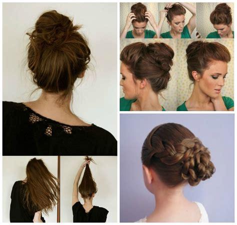 simple easy to make hair styles wonderful 13 simple bun hairstyles