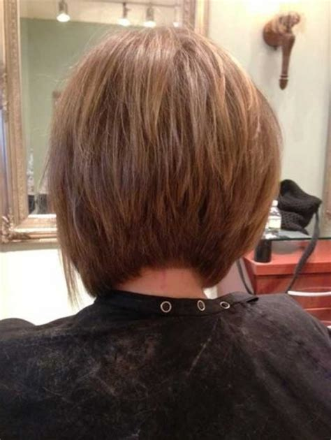 back of head of bob haircut brilliant long inverted bob back view pertaining to