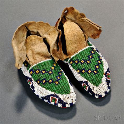 beaded moccasins lakota fully beaded child s moccasins sale number 2893b