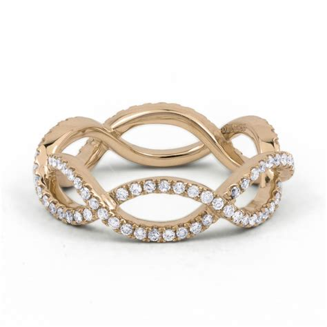 Eternity Ring by 18ct Gold Designer Eternity Ring 0 55ct