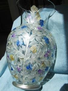 Wedding Gift Vase by Painted Custom Designed Gifts By Lori Schiersmann