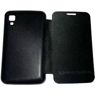 Lg Optimus L4 Ii Anti Gores Clear Screen Guard lg optimus l4 ii dual e445 flip diary cover black free hd screen gurd in india