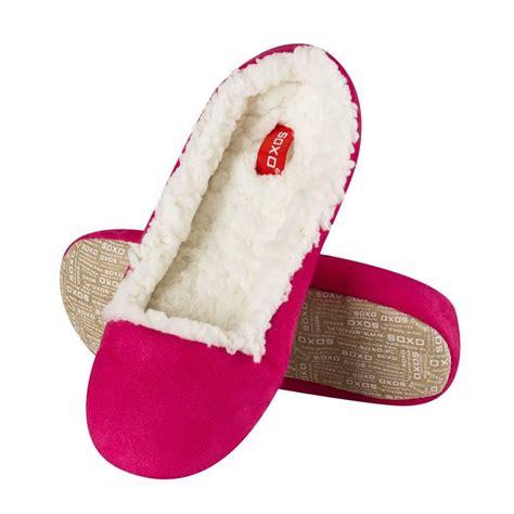 s ballerina slippers soxo s ballerina slippers with soft padding soxo