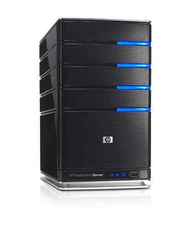 microsoft announces hp mediasmart server powered by