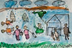 how syrian children are drawing and using art therapy to