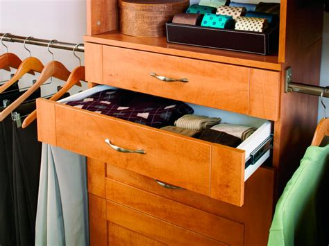 Closet Storage Shelves And Drawers Closet Storage Drawers Hgtv