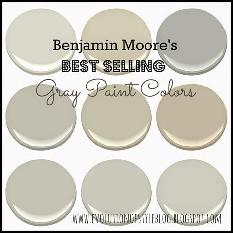 best gray paint colors benjamin moore benjamin moore s best selling grays evolution of style