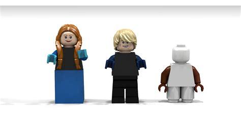 Disney Frozen Brick Minifigure Olaf lego ideas disney s frozen marshmallow ambush