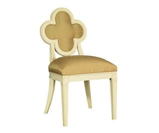 Suzanne Kasler Quatrefoil Chair by My Herring Inspired By Cleef And Arpels Alhambra