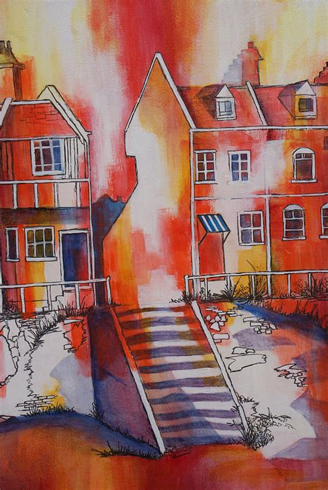 house of the rising sun original artist house of the rising sun painting by coralie smyth