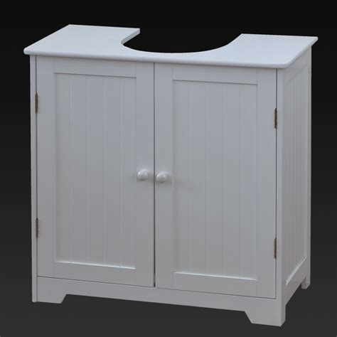 Bathroom Furniture Doors Sink Cabinet Basin Storage Unit Cupboard Bathroom Wood White Vanity Doors Ebay