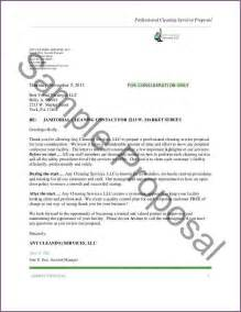 sle cleaning letter proposalsleletter
