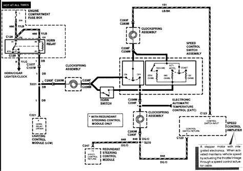 1996 lincoln town car wiring diagram cruisecontrol