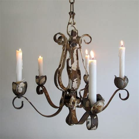 kronleuchter teelichter iron chandelier with candles rustic iron one tier candle