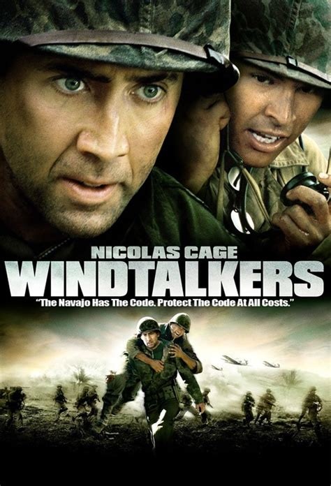 film nicolas cage numbers movie poster for windtalkers flicks co nz