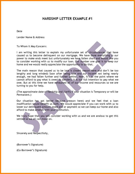 Hardship Letter Exle For Immigration Exles Of Hardship Letters For Immigration Cover Letter Exle