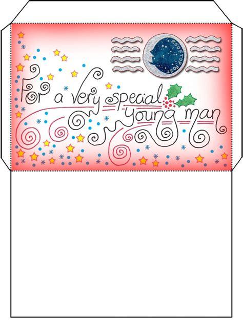 free printable santa letter with envelope father christmas santa letter envelope for a boy