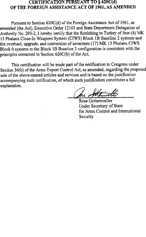 irc section 416 36 b 1 arms sales notification printable