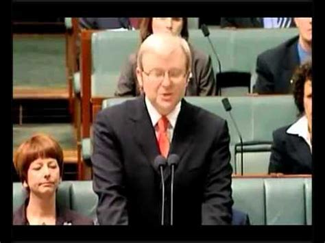 Apology Letter Kevin Rudd National Apology To The Stolen Generations Pm Kevin Rudd