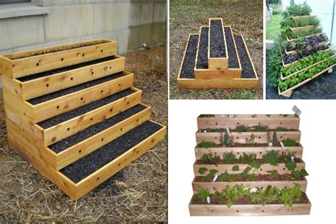 Tiered Strawberry Planter Plans by Garden Ideas On Garden Planters Raised Gardens And Coops