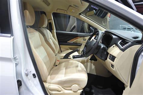 mitsubishi expander seat mitsubishi xpander at giias 2017 live front seats indian