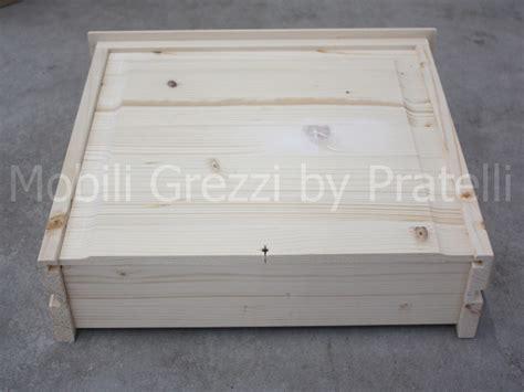 cassettiere legno grezzo comodini grezzi comodino grezzo 3 cassetti leonard