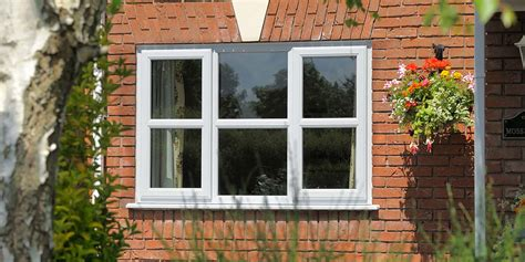 home design upvc windows white upvc windows on modern detached property by clearview