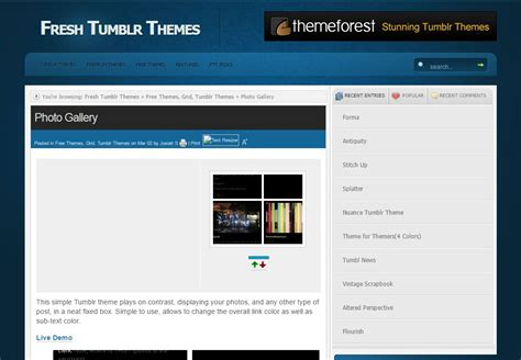 tumblr layout generator free 40 tumblr themes web3mantra