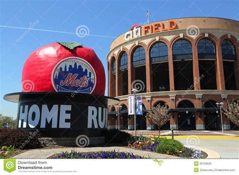 citi field home of major league baseball team the new
