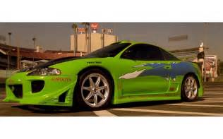 Paul Walker Mitsubishi Eclipse 4 Mitsubishi Eclipse 2g Rs F F1 The Car That Brian O