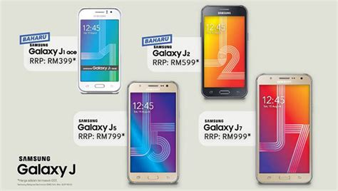 Hp Samsung Galaxy Di Malaysia daftar harga hp samsung j1 j2 j5 j7